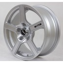 Trend Racing M6556 6.5x15 4x100 ET38 Full Silver