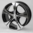 LF Works 307 7x17 5x114.3 ET40 Blaze Titanium Black