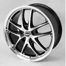 TREND GT M7521 7x16 5x114.3 ET42 Black Platinum